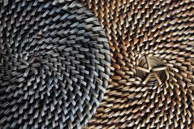 Nito, witterungsbedingte Materialmuster, © Michelle Feye
