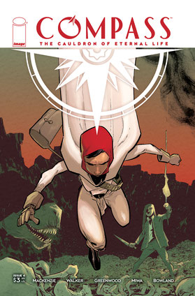 Cover art by Justin Greenwood and Brad Simpson.
