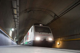 Gottardino in the Gotthard Base Tunnel, Foto: http://photos.prnewswire.com/prnh/20161123/442486
