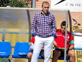 """José María Rodríguez """"May"""", entrenador del Club Deportivo Vicálvaro"""