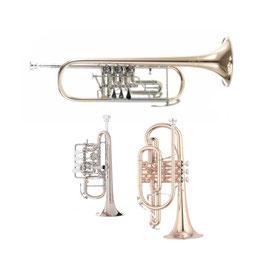 Meine derzeitigen Trompeten