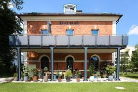 Eichendielen Vintage Loft im historischen Bahnhof