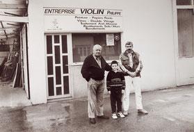 Henri, Jean-Philippe et Philippe VIOLIN