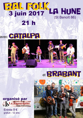La Rigourdaine - Bal Folk 2017 - Catalpa - Brabant