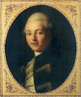 Portrait de Lapérouse, François Hubert Drouais