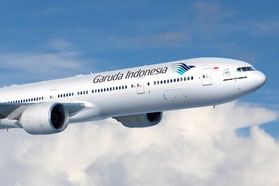 Garuda Indonesia Flugzeug