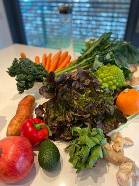 Top ten Tipps für Gesundheit, holistisch, frisches Gemüse, Wasser