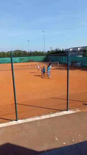 Tennis in Kleingruppen
