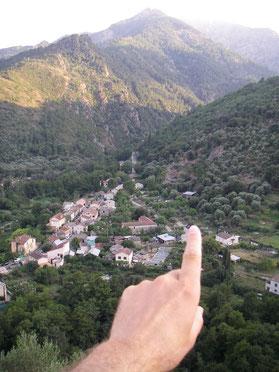 Korsika , Corte