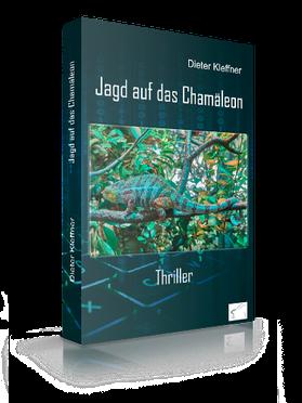 """Abbildung des Buchcovers """"Jagd auf das Chamäleon"""""""