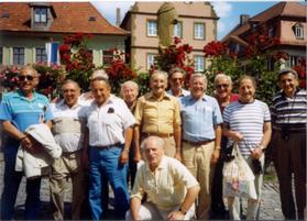 Letzter Tag des Besuches - Ausflug nach Volkach 22.07.1991 Foto: Elisabeth Böhrer