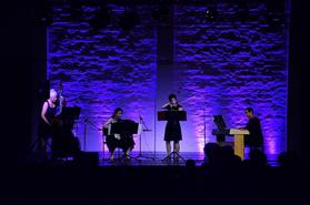 "Die ""Quatro Chicas"", das Tango-Ensemble der MKS"