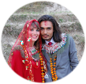 Unschlagbares Team Deutsch-Nepalesisches Ehepaar