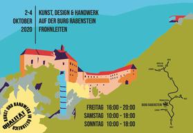 KunstHandWerksMarkt Burg Rabenstein