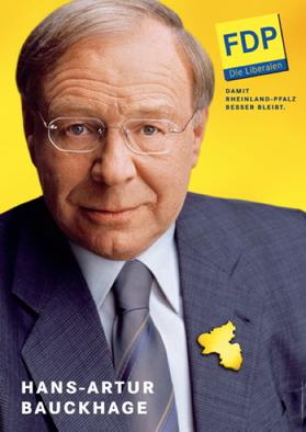 Bild: FDP-Plakat zur Landtagswahl 2006