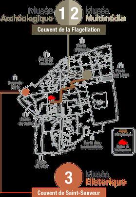 Un complexe d'exposition deux sites et trois musées. Temple de Paris