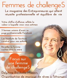 Sortie magazine Femmes de Challenges