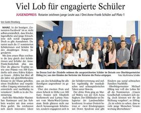 AZ Mainz vom 9.7.2014 (zum Vergrößern klicken)