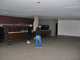 Raum am Eingangsbereich (Zum Vergrößern anklicken)