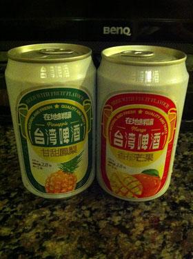 南国仕様の台湾のビール
