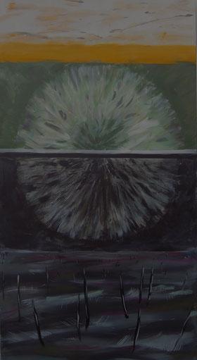TRANSITION, Acryl auf Leinwand, 130 x 70 cm