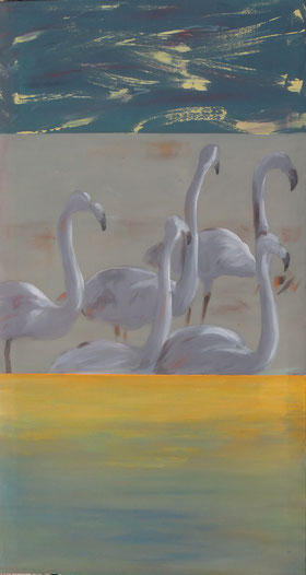WRONG, Acryl auf Leinwand, 130 x 70 cm