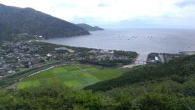 叶岳からの眺望