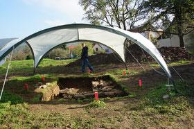 Ausgrabung Burg 2013