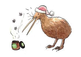 Kiwi de Noël et miel de Manuka