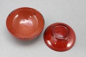 修理前の仏膳 飯椀