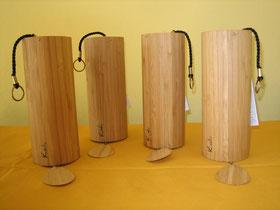 Koshi Klangspiele Bambus authentische Musikinstrumente vier Stimmungen Feuer Wasser Luft Erde Harmonie Ruhe