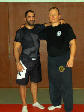 STAGE GRAPPLING AVEC THOMAS LOUBERSANE (CHAMPION DU MONDE) 2013