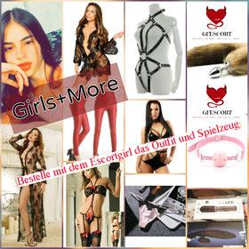 Girls + Dessous + Spielzeug = Mehr Spass = GFEscort