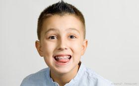 Hilfe bei Problemen mit der Zahnspange