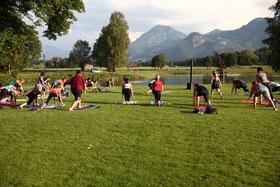 Outdoor Special bodyART Training neubeurer See Neubeuern Robert Rath
