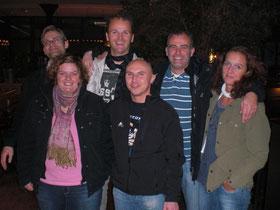 2.Mannschaft v.l.: Martin Raulfs, Nadine Torbeck, Christian Bauer, Karsten Jörgens, Andreas Rottmann und Alex Nahs