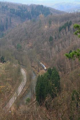 2 Städtebahn 642 zwischen Glashütte und Schlottwitz
