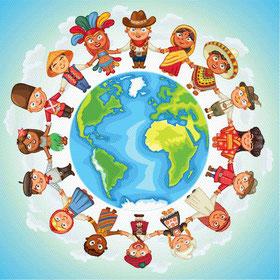 Hello Kids - Reise um die Welt Party