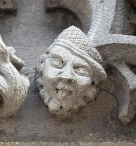 Dernière facétie du sculpteur- Eglise St-Leu- Ph: Magali