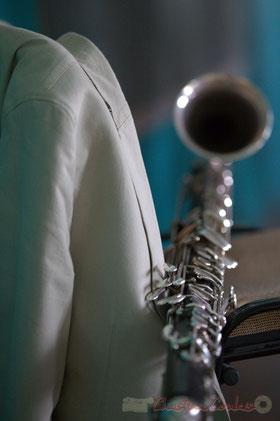 Festival JAZZ360 2015, Clarinette basse de Thomas Savy, Cénac, 13/06/2015