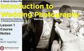 Introduction to wedding photography ebook