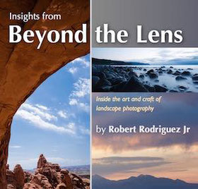 eBook cover of beyond the lens