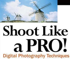 cover of the digital photography ebook Shoot like a pro!