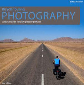 cover of bicycle touring photography