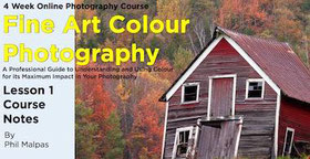 fine art color photography course ebook