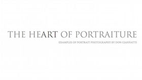 eBook cover of the heart of portraiture