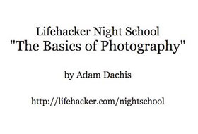 The basics of photography ebook cover