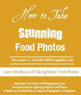 Cover of stunning food photos ebook
