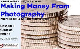 Making money from photography ebook