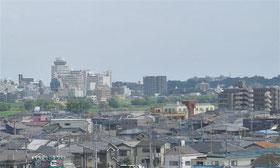 松戸伊勢丹と国府台の森 昨年12月末撮影
